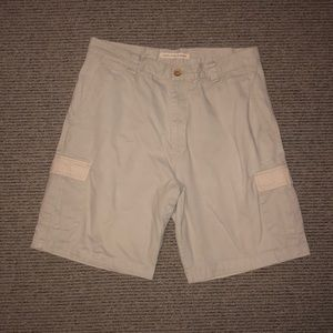 Washed, Stoned, and Beaten cargo shorts. Men's 36.